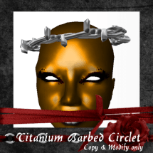 Platinum Barbed Circlet_001